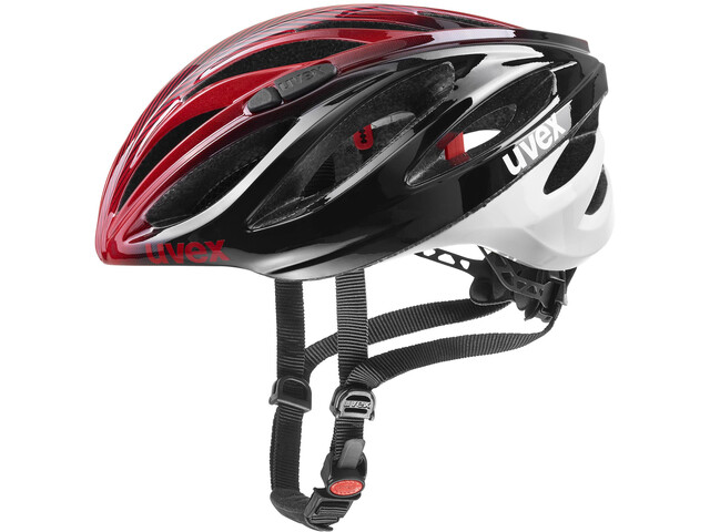 UVEX Boss Race LTD Casco, black red